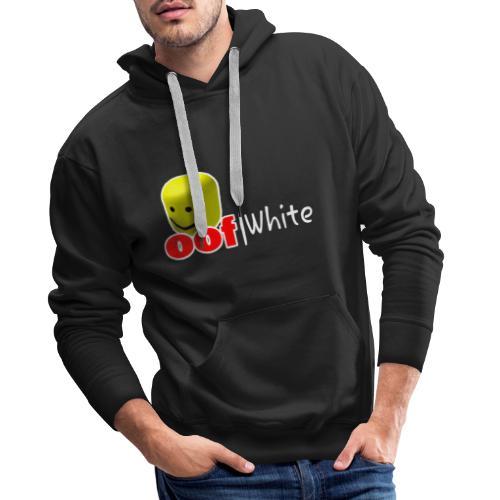 Oof White jpg - Männer Premium Hoodie