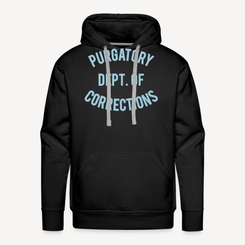 PURGATORY DEPT OF CORRECTIONS - Men's Premium Hoodie