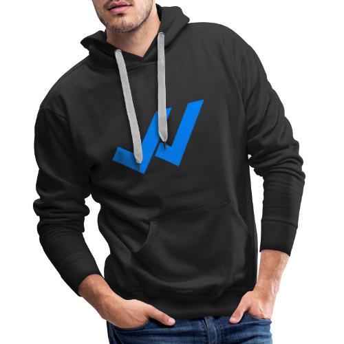 vu whatsapp - Sweat-shirt à capuche Premium pour hommes