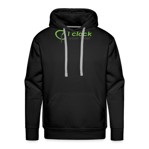 I clock your time - Men's Premium Hoodie