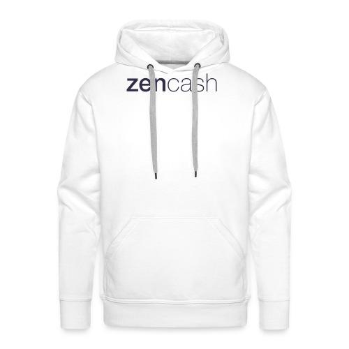 ZenCash CMYK_Horiz - Full - Men's Premium Hoodie