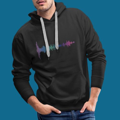 Waveform - Männer Premium Hoodie