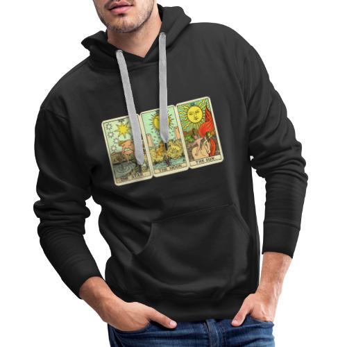STAR MOON SUN - Sudadera con capucha premium para hombre