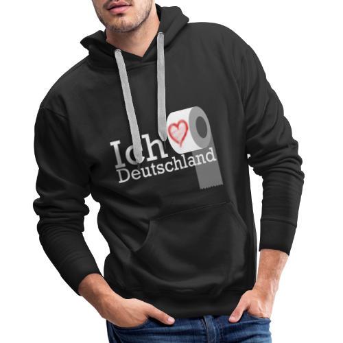 Ich liebe Deutschland - Männer Premium Hoodie