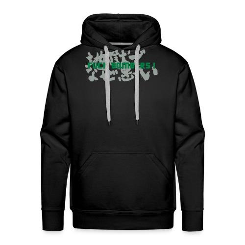 F*ck Bombers ! - Sweat-shirt à capuche Premium pour hommes