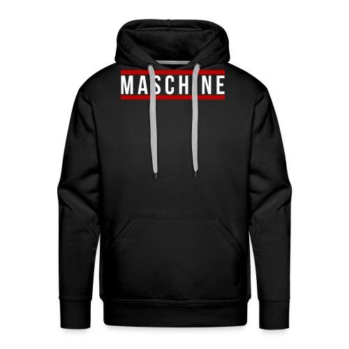 Maschine front - Männer Premium Hoodie