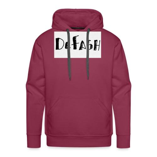 Defash1-png - Sweat-shirt à capuche Premium pour hommes