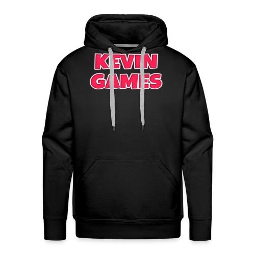 Maglietta KevinGames YouTube - Felpa con cappuccio premium da uomo