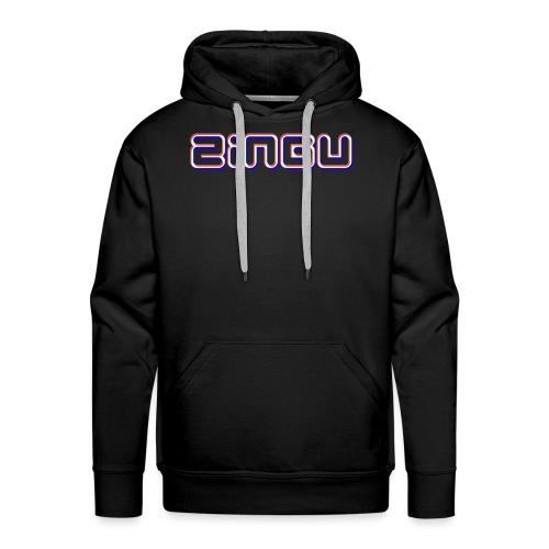 Mens T-Shirt ( Zingu Logo ) - Men's Premium Hoodie
