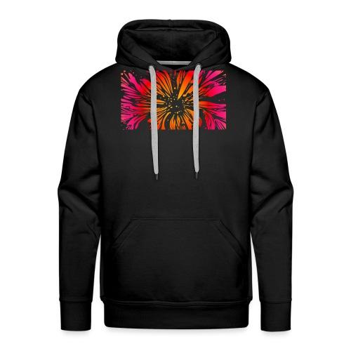 pétales sauvages - Sweat-shirt à capuche Premium pour hommes