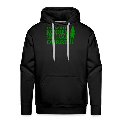 T-Shirt Dürre - Männer Premium Hoodie
