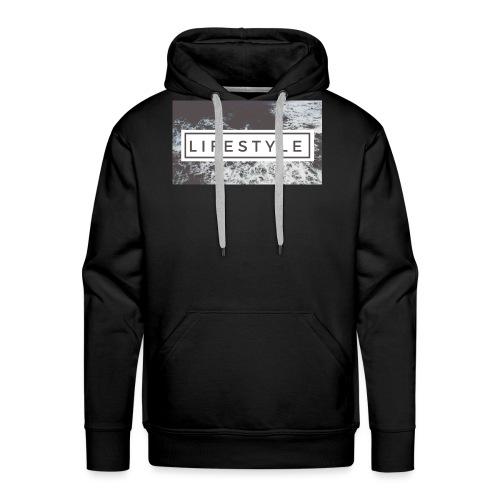 LIFESTYLE - Sweat-shirt à capuche Premium pour hommes