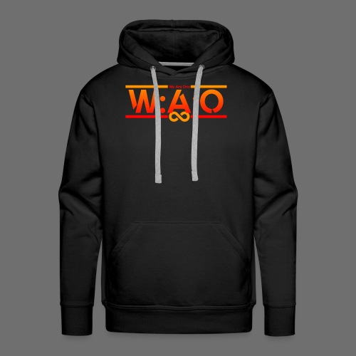 W:A:O We Are One - Männer Premium Hoodie