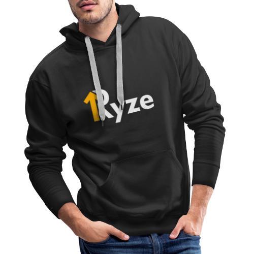 Ryze Logo Copy - Felpa con cappuccio premium da uomo