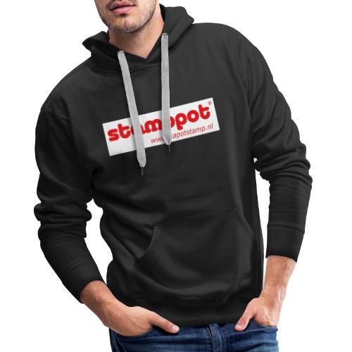 STAMPPOT white background - Mannen Premium hoodie