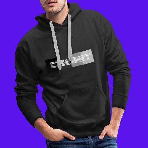 CESART LOGO WB - Sweat-shirt à capuche Premium pour hommes