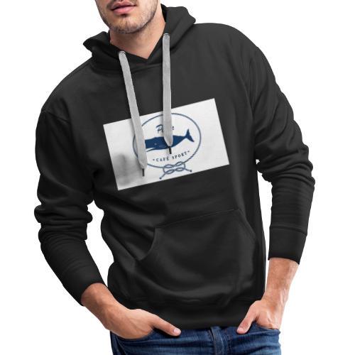 peter cafe sport porto 3 - Männer Premium Hoodie