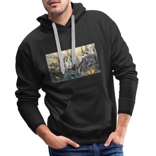 73644 - Sudadera con capucha premium para hombre