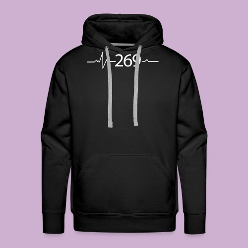 269 - RESPEKTIERE LEBEN - Männer Premium Hoodie