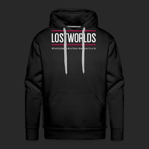 lostworlds - #lostplace #urbex #adventure | hell - Männer Premium Hoodie