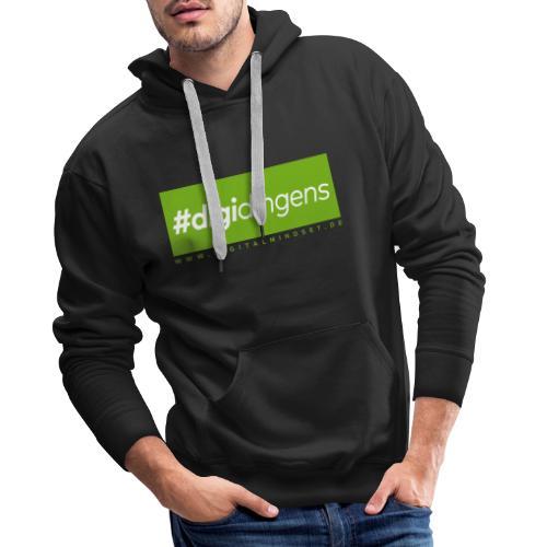 #digidingens - Männer Premium Hoodie