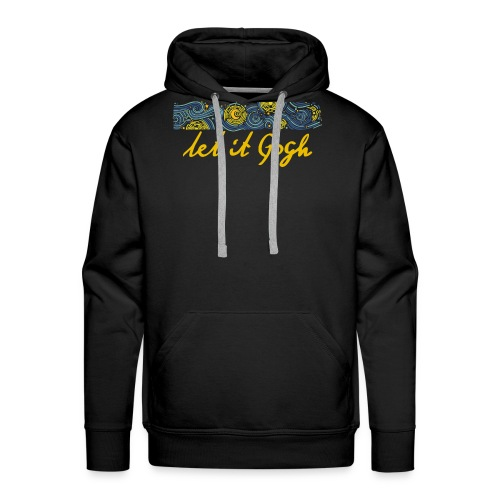 LET IT GOGH - Men's Premium Hoodie