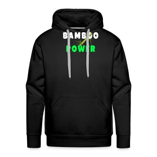 Bamboo Power T-shirt - Mannen Premium hoodie