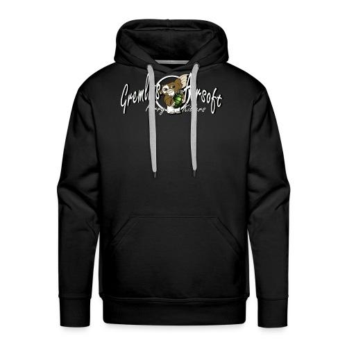 gizmowhite2 - Herre Premium hættetrøje