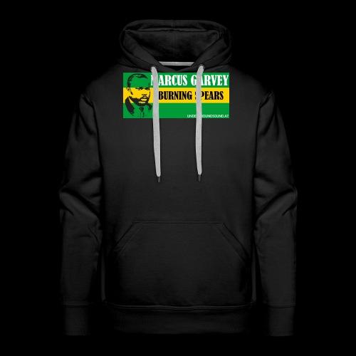 BURNING SPEARS - Marcus Garvey - Männer Premium Hoodie