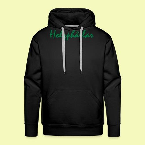 Schriftzug Grün - Männer Premium Hoodie