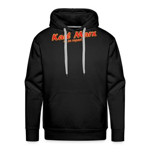 Karl Marx et ça repart ! - Sweat-shirt à capuche Premium pour hommes