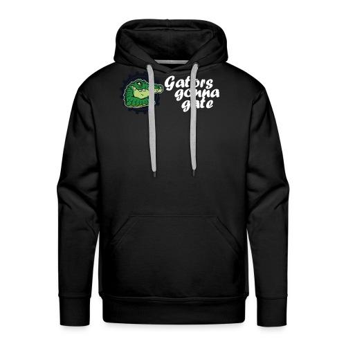 gator fw png - Men's Premium Hoodie