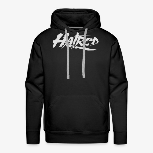 Hatred Shirt (Herren) Logo - Männer Premium Hoodie