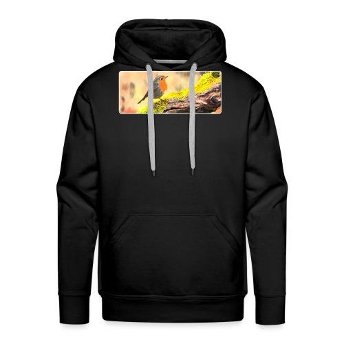 Rotkehlchen - Männer Premium Hoodie