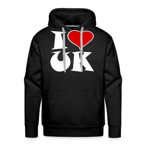 England - Ich Liebe UK - Männer Premium Hoodie