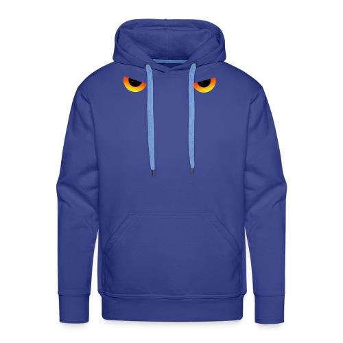 Augen feurig - Männer Premium Hoodie