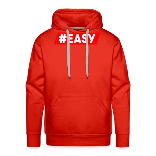 #EASY Classic Logo Snapback - Felpa con cappuccio premium da uomo