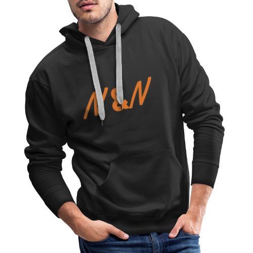 N&N DK - Herre Premium hættetrøje