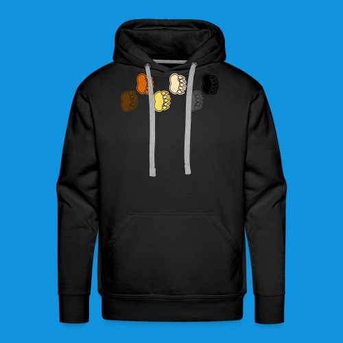 Bear Paws tank - Men's Premium Hoodie