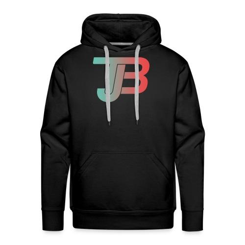 TJB Logo Gradient - Männer Premium Hoodie