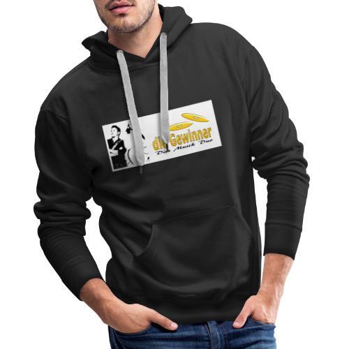 Das Logo mit dem Bild - Männer Premium Hoodie