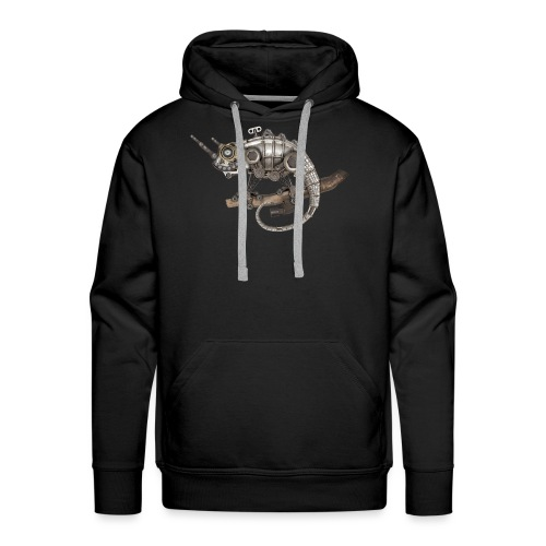 Steampunk Chamäleon - Männer Premium Hoodie
