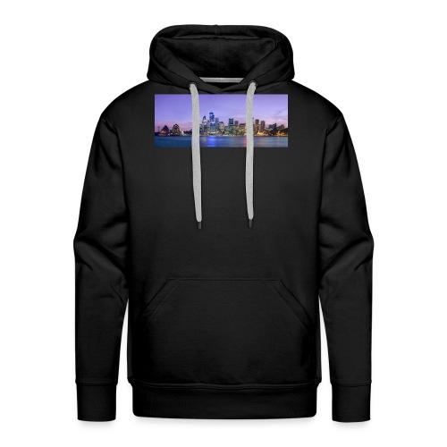 Sydney skyline - Männer Premium Hoodie