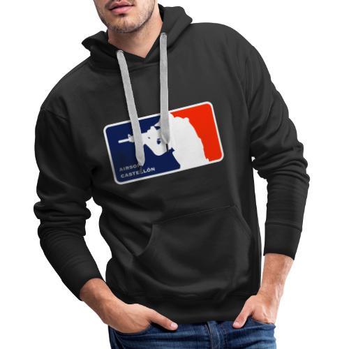 AIRSOFT CASTELLON - Sudadera con capucha premium para hombre