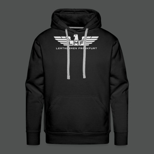 LMF grey - Männer Premium Hoodie