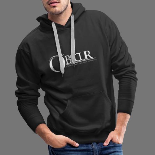 Grand logo Obscur - Sweat-shirt à capuche Premium pour hommes
