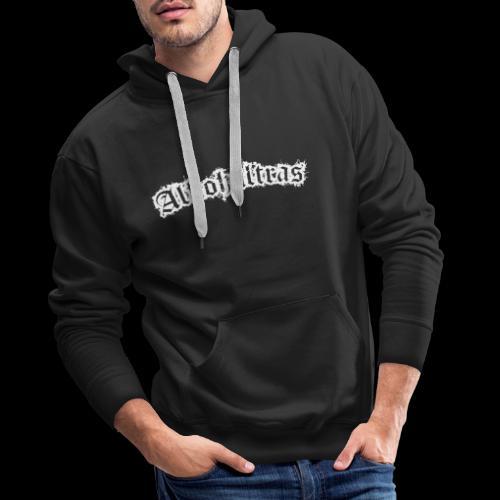 Alkohultras Rücken - Männer Premium Hoodie