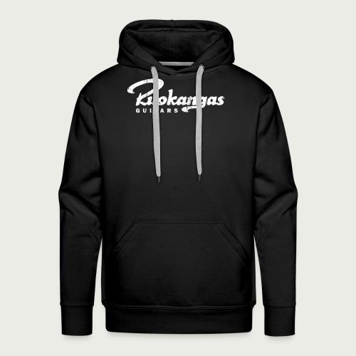 RuokangasGuitars white - Men's Premium Hoodie