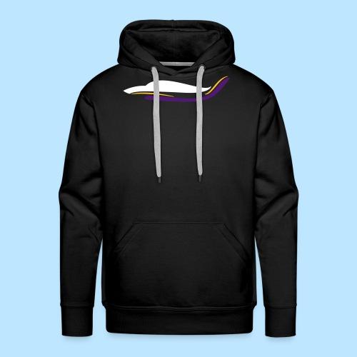 Avion Robin DR400 profile design - Sweat-shirt à capuche Premium pour hommes