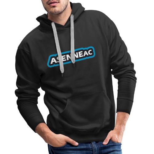 Asenne academy tekstilogo - Miesten premium-huppari